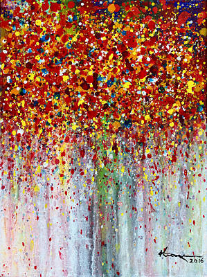 Painting - Autumn Rain by Kume Bryant
