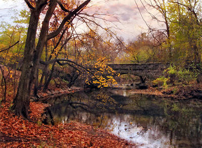 Fall Foliage Photograph - Autumn's Ending by Jessica Jenney
