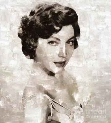 Ava Gardner Hollywood Actress  Art Print