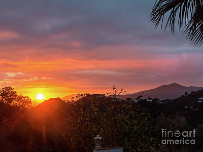 Photograph - Axarquia Sunset by Rod Jones