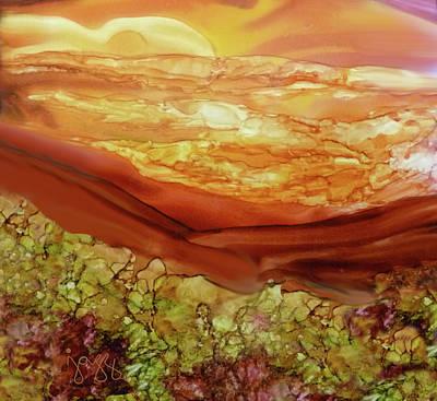 Jazz Art Painting - 2-b Landscape by Jazz Art