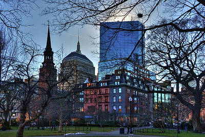 Photograph - Back Bay Skyline - Boston by Joann Vitali