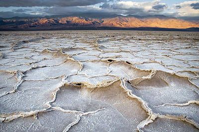 Photograph - Badwater Sunrise by Mike Irwin