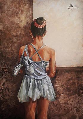 Painting - Bailarina by Natalia Tejera