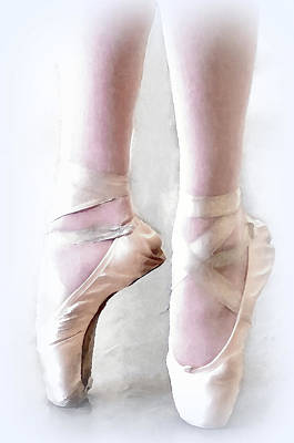 Photograph - Ballet Shoes by Bill Howard
