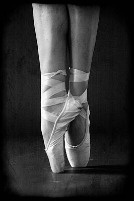 Photograph - Ballet Slippers by Hugh Smith