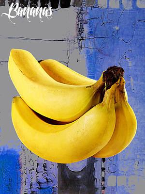 Banana Collection Art Print