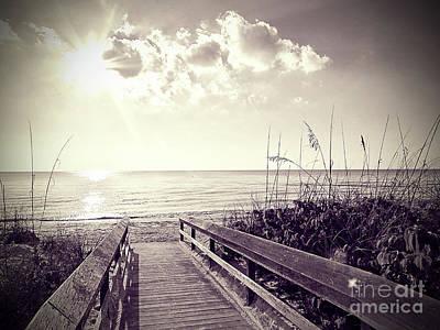 Island .oasis Photograph - Barefoot Beach by Chris Andruskiewicz