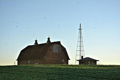 Photograph - Barn On The Hill by Bonfire Photography