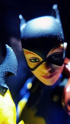 Batgirl Photograph - Batgirl by Leon Heart