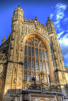 Photograph - Bath Abbey  by David Pyatt