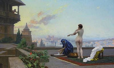 Jean-leon Gerome Painting - Bathsheba by Jean-Leon Gerome