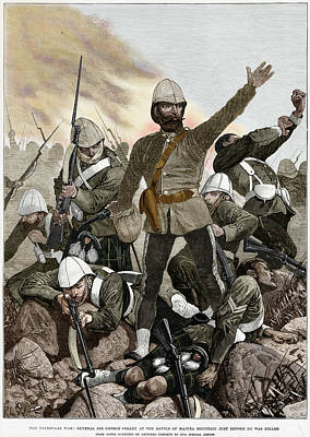 Colonist Photograph - Battle Of Majuba, 1881 by Granger