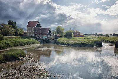 Country Cottage Photograph - Battlesbridge by Martin Newman