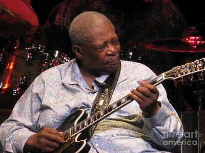 Photograph - B.b. King by April Sims