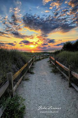 Photograph - Beach Access by John Loreaux