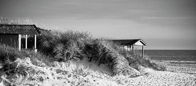 Photograph - Beach Houses by Michael Maximillian Hermansen