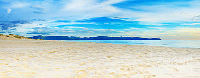 Beach Panorama Art Print by MotHaiBaPhoto Prints