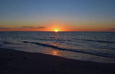 Photograph - Beach Sunset by Larah McElroy