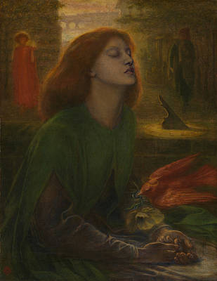Painting - Beata Beatrix by Dante Gabriel Rossetti