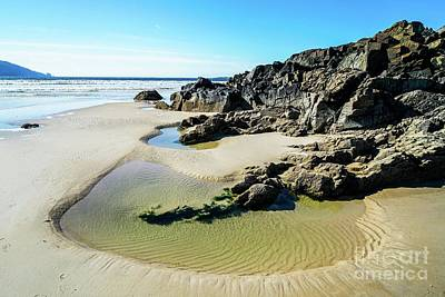 Journey Wall Art - Photograph - Beautiful Beach by Ric Schafer