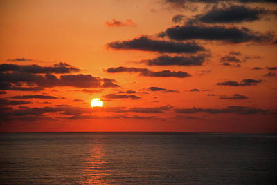 Photograph - Beautiful Sunset Scenery In The Morning by Carl Ning