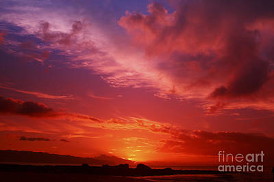 Beautiful Sunset Art Print by Vince Cavataio - Printscapes