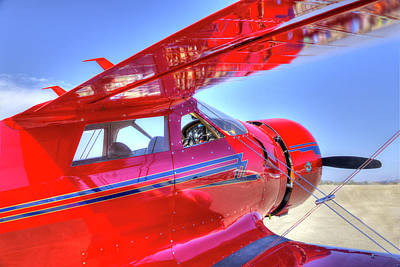 Photograph - Beechcraft Staggerwing by Joe  Palermo