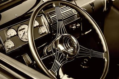 Behind The Wheel Print by Marnie Patchett