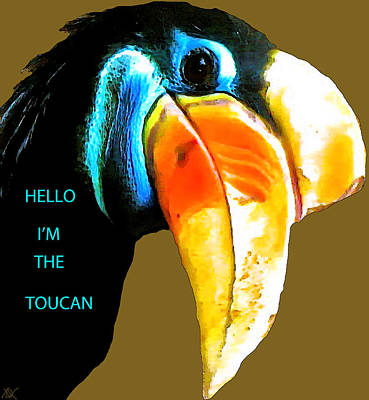 Believe Toucan Art Print by Debra     Vatalaro