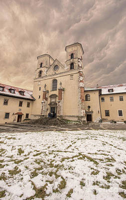 Photograph - Benedictine Abbey by Juli Scalzi