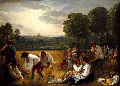 Benjamin West Painting - Benjamin West by MotionAge Designs