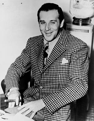 Ancestry Photograph - Benny Bugsy Siegel 1906-1947 by Everett