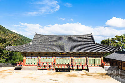 Beomeosa Temple In Busan, South Korea Art Print by Didier Marti
