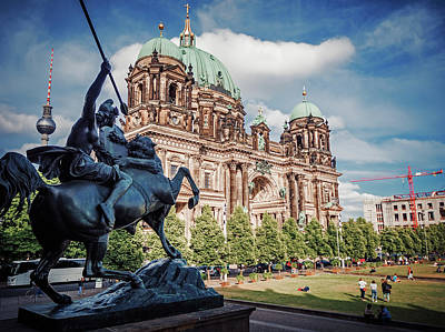 Berlin Photograph - Berlin Cathedral by Alexander Voss