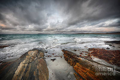 Berneray Views Art Print by Nichola Denny