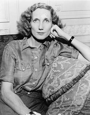 2008-2 Photograph - Beryl Markham 1902-1986, British Born by Everett
