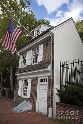 Betsy Ross House Philadelphia Pennsylvania Art Print by Jason O Watson