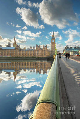 Art Print featuring the photograph Big Ben London by Adrian Evans