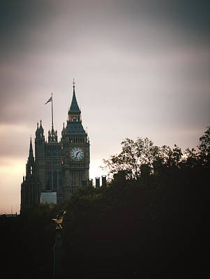 Photograph - Big Ben by Rachel Mirror