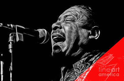 Big Joe Turner Collection Art Print by Marvin Blaine