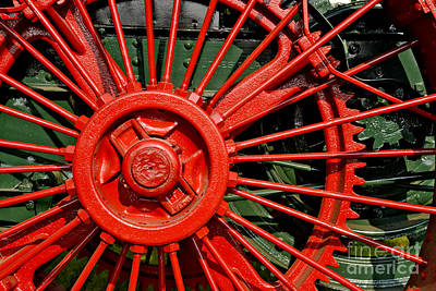 Beastie Boys - Big Red Wheel by Paul W Faust -  Impressions of Light
