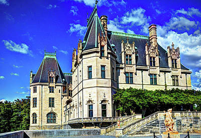 Photograph - Biltmore House by Savannah Gibbs