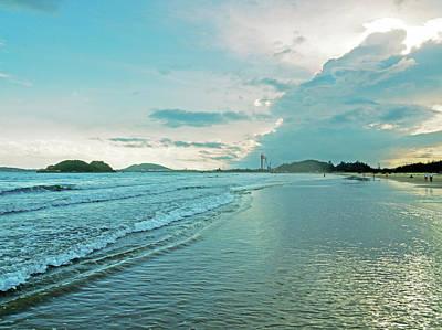 Photograph - Binh Hai Beach by Tran Minh Quan