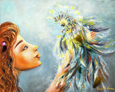 Painting - Birds Of  Paradise by Gina De Gorna