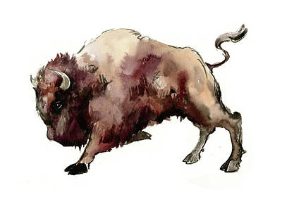 Painting - Bison by Suren Nersisyan