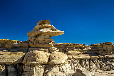 Photograph - Bisti Badlands by Ron Pate