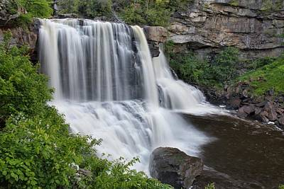 Photograph - Blackwater Falls by Chris Berrier