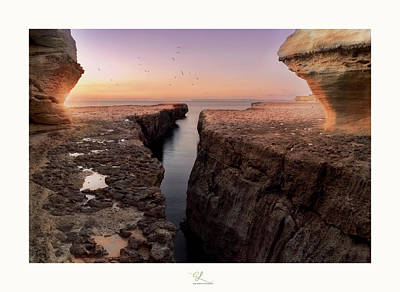 Photograph - Blata Tal-melh - Salt Rock by Adel Ferrito