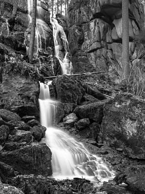Photograph - Blauenthal Waterfall by Thomas Schreiter